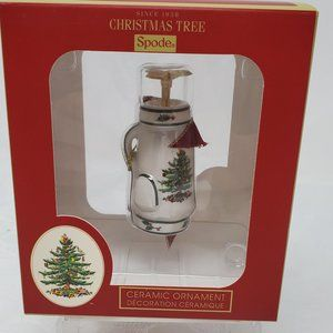 Spode Christmas Tree Golf Bag Ornament